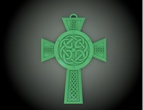 十字架项链挂坠